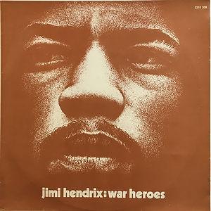 jimi hendrix collector vinyls/ war heroes 1972