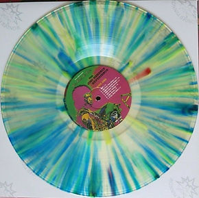 jimi hendrix bootlegs/lp vinyls albums/axis bold as love the alternate multicolor disc  records