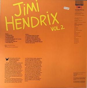 jimi hendrix vinyls LP collector / jimi hendrix vol 2 / 1976