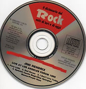 jimi hendrix cd bootleg / rock : live at los angeles forum 1969