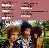 jimi hendrix cd bootlegs/experience europe1 /1967