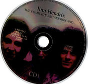 jimi hendrix collector bootlegs cd/cd1 the complete session bbc and