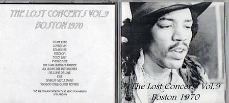 jimi hendrix bootlegs cd / boston  june 27, 1970