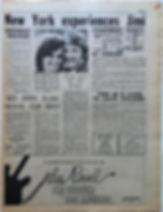 jimi hendrix newspaper/go 15/3/68