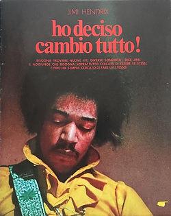 jimi hendrix magazines 1969/ciao 2001 N°48 dec.24, 1969: ho deciso cambio tutto !