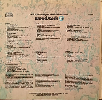 jimi hendrix rotily vinyls collector/woodstock  1970 usa