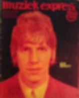 jimi hendrix rotily magazine/  muziek expres march 1967
