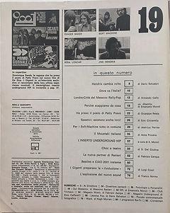 jimi hendrix magazines 1970 /ciao 2001 /may 13, 1970