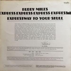 jimi hendrix album vinyl / expressway to tour skull buddy miles