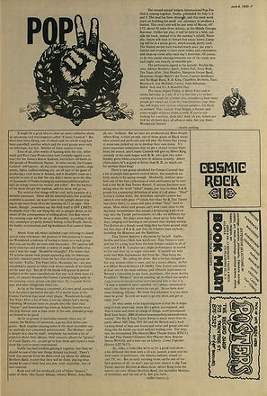 jimi hendrix newspapers 1970 / the great speckled bird  june 8, 1970
