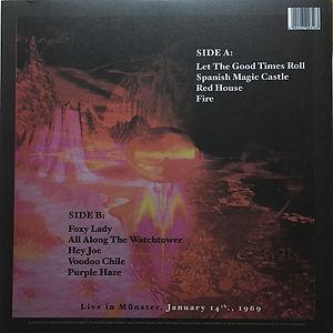 jimi hendrix bootleg vinyl album/live in munster