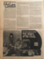 jimi hendrix newspaper 1970 /rock april 1,1970