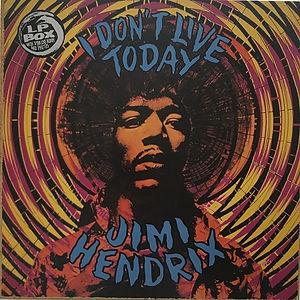 jimi hendrix box lp album vinyls/i don't live today