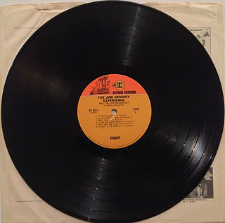 jimi hendrix collector vinyls lp /are you experienced 2nd edition usa 1968 stereo