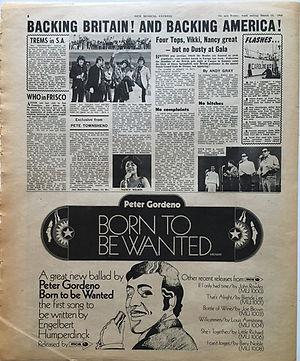 jimi hendrix newspaper collector/newspaper 16/3/68