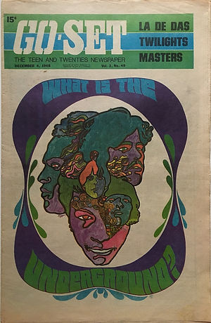 jimi hendrix newspper 1968/go set december 4 1968 australia