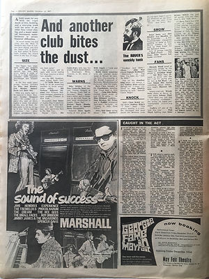 jimi hendrix newspapers collector/the sound of success marshall