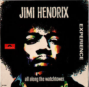 jimi hendrix collector EP 54t vinyls/all along the watchtower portugal 1968