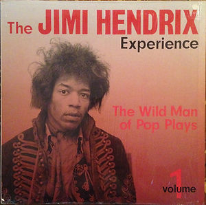 color the wild man of pop plays vol 1/jimi hendrix rotily collector vinyl