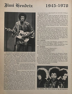 jimi hendrix magazines 1970 death : jazz & pop / november  1970