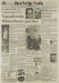 jimi hendrix newspapers 1967 / het vrije volk : june 16, 1967