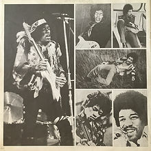 Booklet electric ladyland japan 1977 /jimi hendrix collector