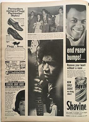 jimi hendrix magazine /ebody may 1968