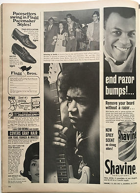 jimi hendrix magazine /ebody may 1968