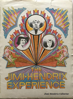 Jimi hendrix collecror memorabilia 1969/kit press 1969