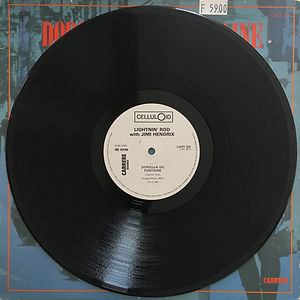 jimi hendrix vinyls 1970 /  lightnin' rod / maxi single : doriella du fontaine / side 1