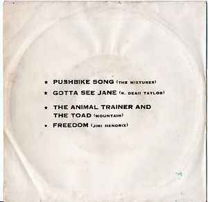 jimi endrix ep/vinyls/ thailand freedom