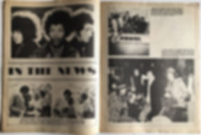 in the news / black music review 69