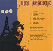 jimi hendrix cds bootlegs/live at l'olympia paris/