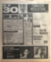 jimi hendrix newspaper 1968/disc music echo december 7 1968