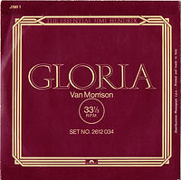 jimi hendrix collector singles/vinyls/gloria italy 1978/polydor records