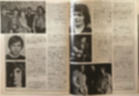jimi hendrix magazine 1969/ hullabaloo feb 1969