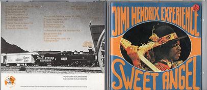 jimi hendrix collector bootlegs cd/sweet angel 1989