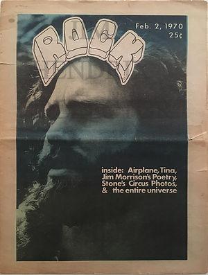 jimi hendrix newspapers 1970/ rock  february 2, 1970