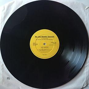 jimi hendrix vinyls album / the jimi hendrix concerts / castle communications side 1 / england  1990