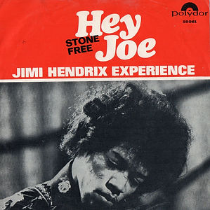 hey joe/jimi hendrix rotily vinyl collector/hey joe