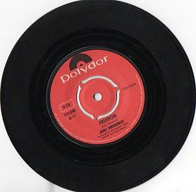 jimi hendrix vinyls singles/freedom norway