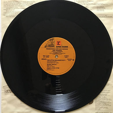 side 1 /the little drummer boy/silent night/auld lang syne/maxi single vinyl jimi hendrix collector 1979