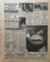 jimi hendrix newspaper/new musical express 23/3/68