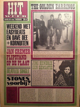 jimi hendrix magazines collector 1967 /  hit february 2  1967