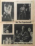 jimi hendrix newspapers/beat 27/1/1968