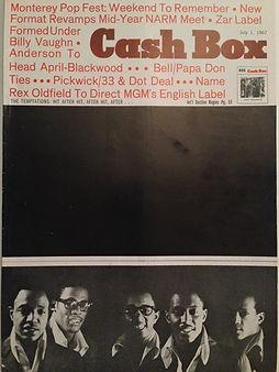 jimi hendrix rotily magazine/cash box 1/7/67