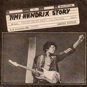 jimi hendrix collector singles vinyls/ spanish castle magic