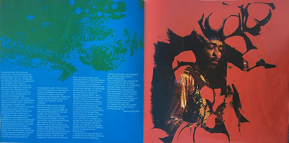 jimi hendrix collector vinyls/ starportrait  1971 new zealand