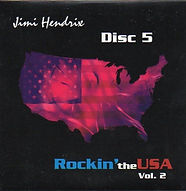 jimi hendrix bootlegs cds 1970 / jimi hendrix rockin'the usa part 6 / disc 5  vol 2
