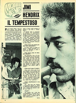 jimi hendrix magazines 1968/ grand hotel july 20, 1968